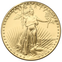 1987 1oz PROOF American Eagle Gold Coin MCMLXXXVII