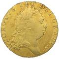1793 George III Gold Guinea - Good Fine
