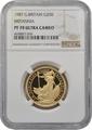 1987 Half Ounce Proof Britannia Gold Coin NGC PF70