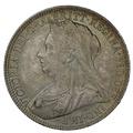 1900 Queen Victoria Silver Florin