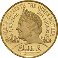 2000 - Gold £5 Proof Crown, Queen Mother
