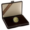 Canadian 1982 $100 half ounce Proof gold coin Constitution Boxed