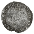 1553-4 Queen Mary Silver Fourpence - mm Pomegranate