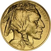 2018 1oz American Buffalo Gold Coin