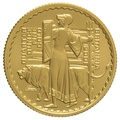 2001 Quarter Ounce Proof Britannia Gold Coin