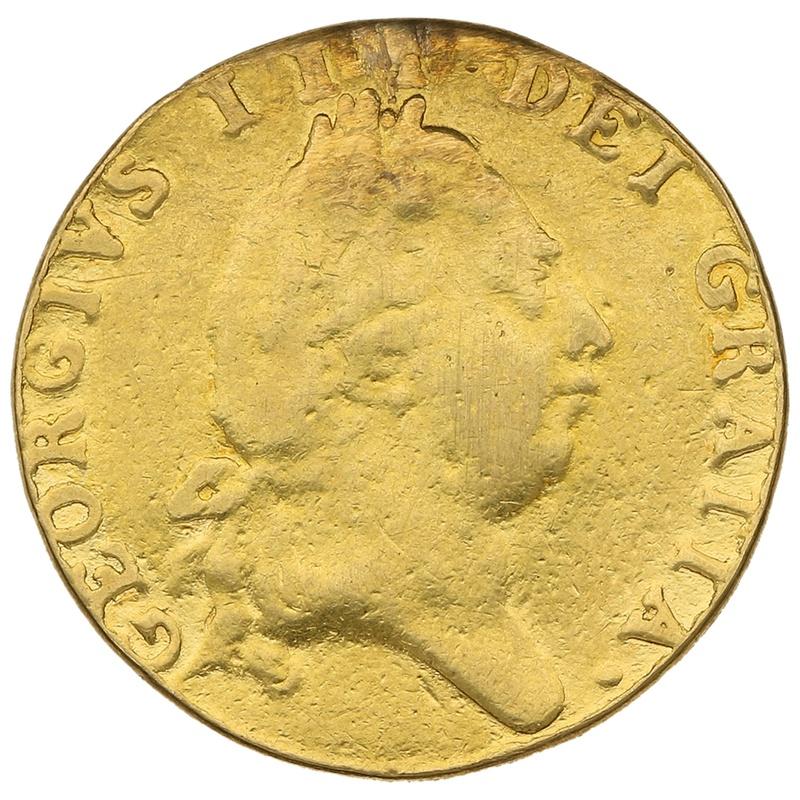 1787 George III Gold Half Guinea