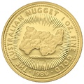 1986 1oz Gold Proof Australian Nugget