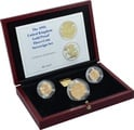 1995 Gold Proof Sovereign Three Coin Set Boxed