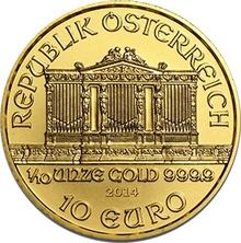 2014 Tenth Ounce Gold Austrian Philharmonic