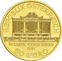 2017 Half Ounce Gold Austrian Philharmonic