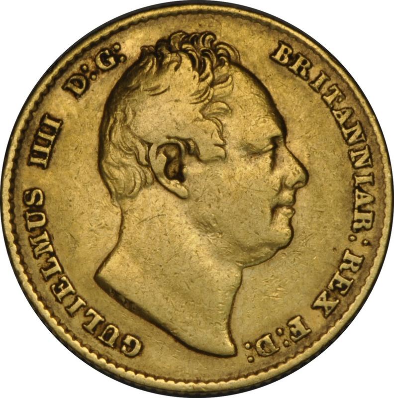 1835 Gold Sovereign - William IV