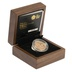 Gold Proof 2014 £1 One Pound Northern Ireland Floral Boxed