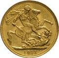 1911 Gold Sovereign - King George V - S