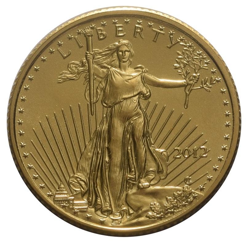 2012 Tenth Ounce Eagle Gold Coin