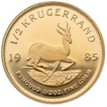1985 Proof Half Ounce Krugerrand Gold Coin