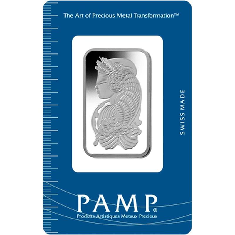 PAMP 1oz Platinum Bar Minted