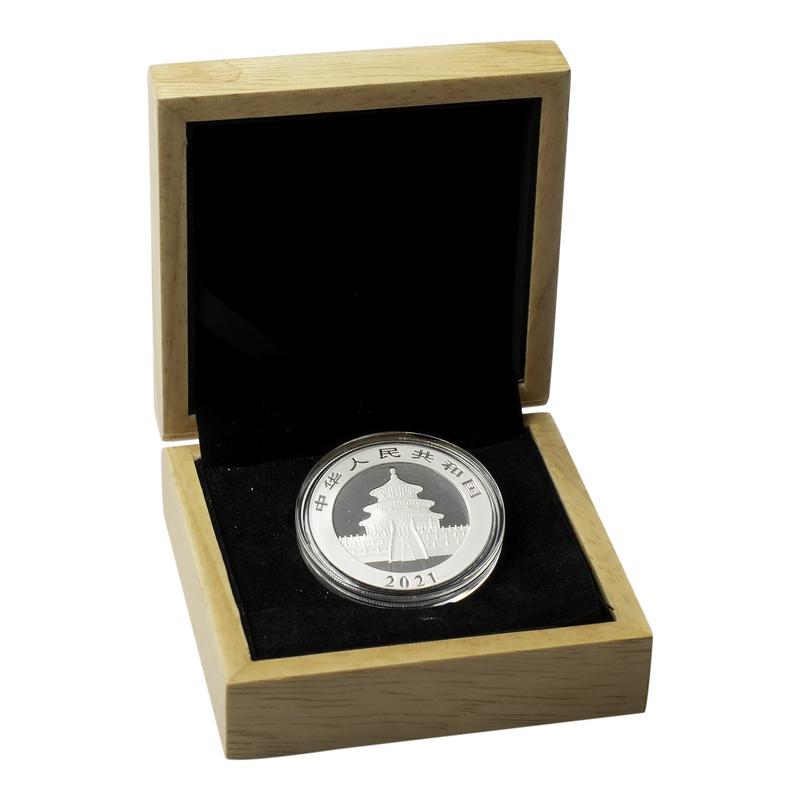 2021 30g Silver Chinese Panda Gift Boxed