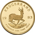 1983 1oz Gold Proof Krugerrand