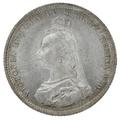 1888 Queen Victoria Silver Shilling