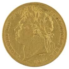 1823 Gold Sovereign