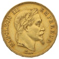100 French Francs - Laureate Head