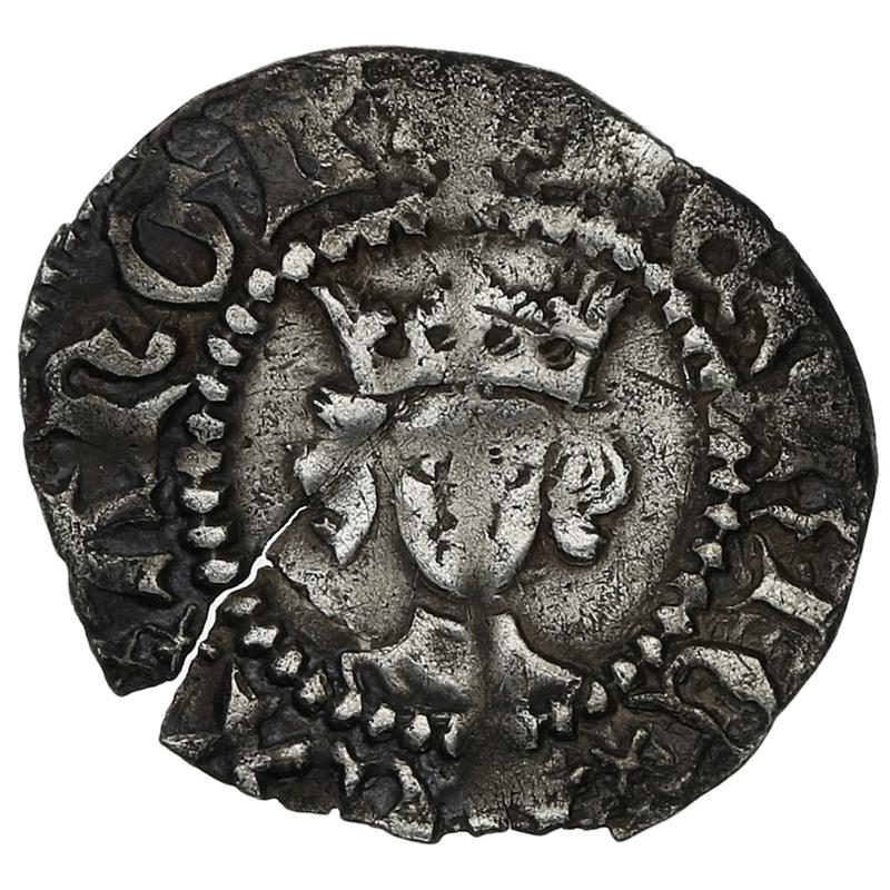 1422-31 Henry VI Hammered Silver Halfpenny London