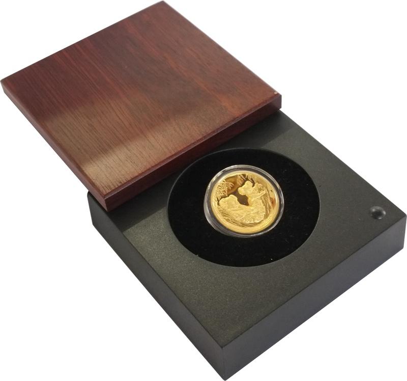 Australian Koala 2011 1oz Gold Proof coin High Relief Boxed