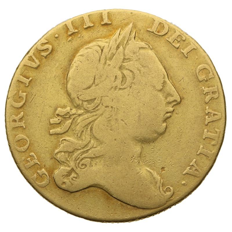 1764 George III Guinea Gold Coin