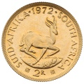 1972 2R 2 Rand coin South Africa