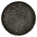 "1822 George IV Silver Crown ""TERTIO"""