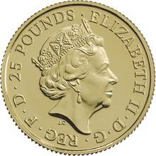 2016 Royal Mint Gold Standard Quarter Ounce £25 coin