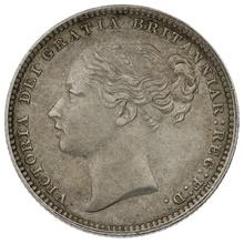 1881 Victoria Silver Shilling