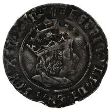 1509-26 Henry VIII Hammered Silver Groat - mm Portucullis
