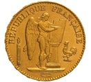 1897 20 French Francs - Guardian Angel - A