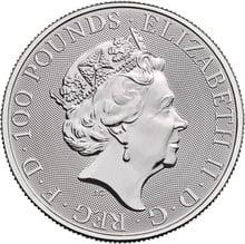 2020 1oz Platinum Britannia Coin