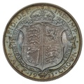 1911 George V Silver Half Crown Proof