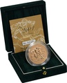 2004 - Gold £5 Brilliant Uncirculated Coin Boxed