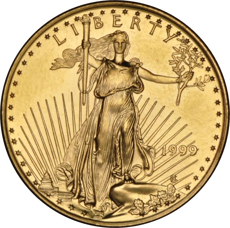 1999 Quarter Ounce Eagle Gold Coin