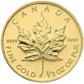 1998 Half Ounce Gold Maple