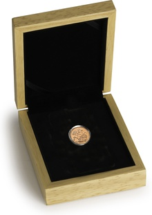 2018 Half Sovereign Gold Coin Gift Boxed