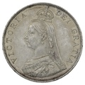 1889 Queen Victoria Silver Double Florin – GEF
