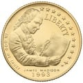 1993 Proof James Madison - American Gold Commemorative $5