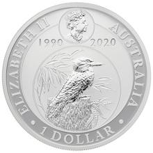 2020 1oz Silver Kookaburra
