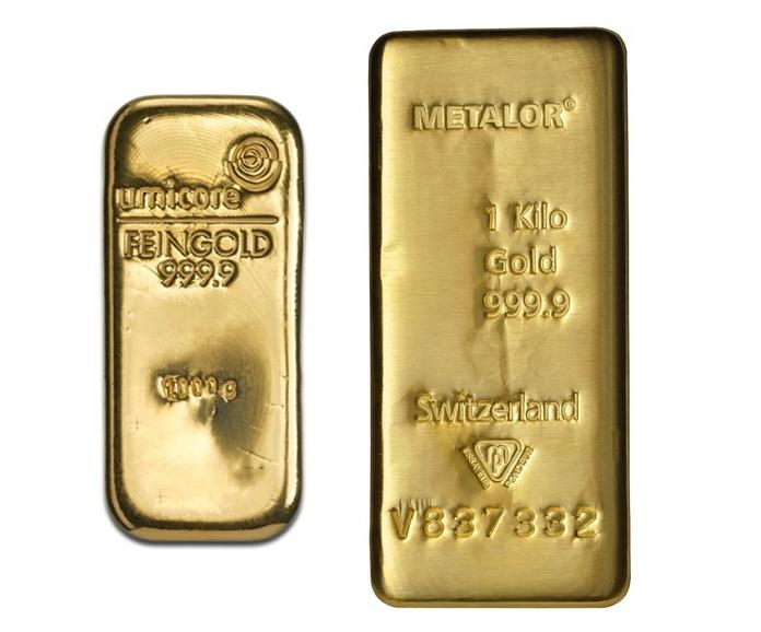 1kg Gold Bars Best Value Bullionbypost From 42 713
