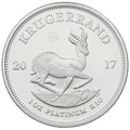 2017 1oz Proof Platinum Krugerrand Coin