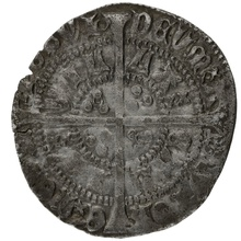 1422-3 Henry VI Fourpence Annulet Issue Calais Mint