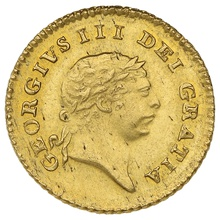 1809 George III Third Guinea Gold Coin