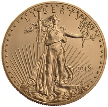 2013 1oz American Eagle Gold Coin