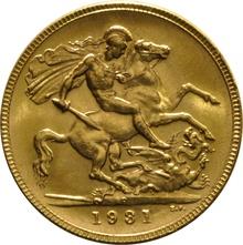 1931 Gold Sovereign - King George V - P