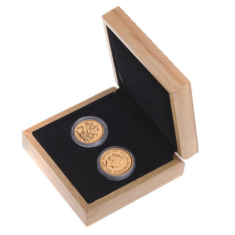 Two 2019 Sovereign Gold Coins Gift Boxed